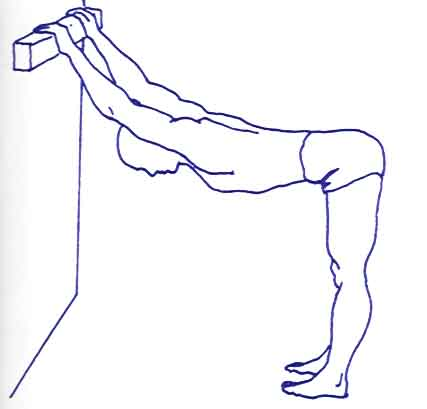 stretching per le gambe