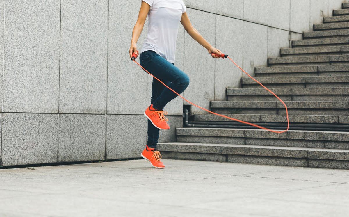 Allenamento con la corda - jumping rope