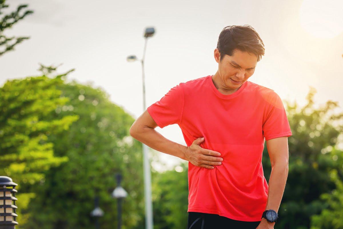 Problemi intestinali del runner