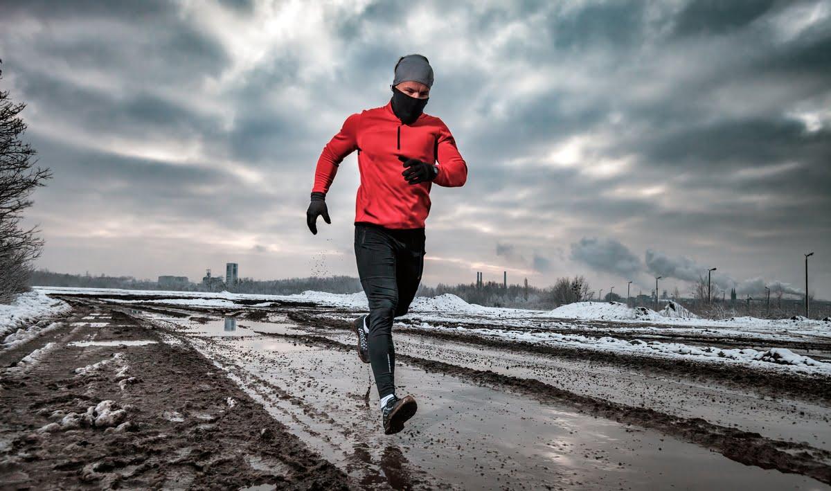 raffreddore e corsa