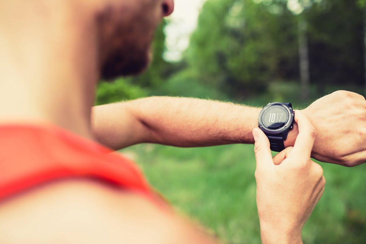 Cronometro sportivo da polso