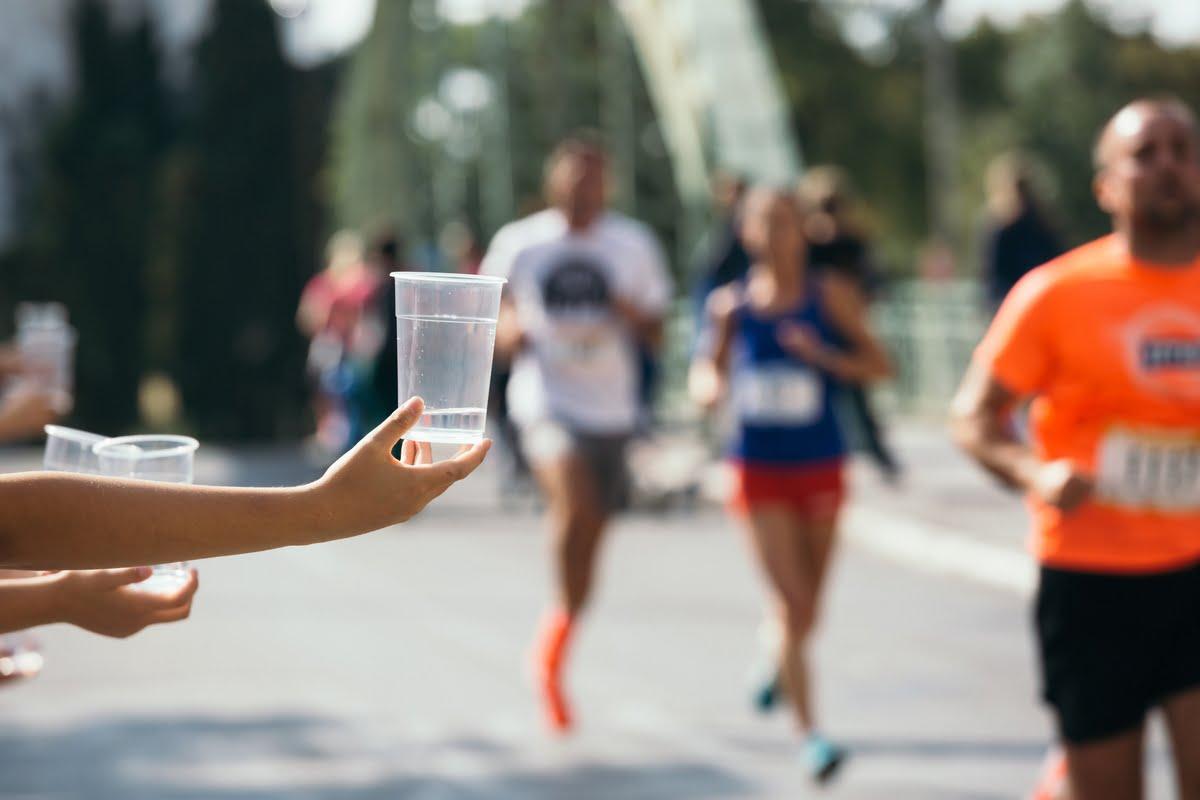 Rifornimento in maratona