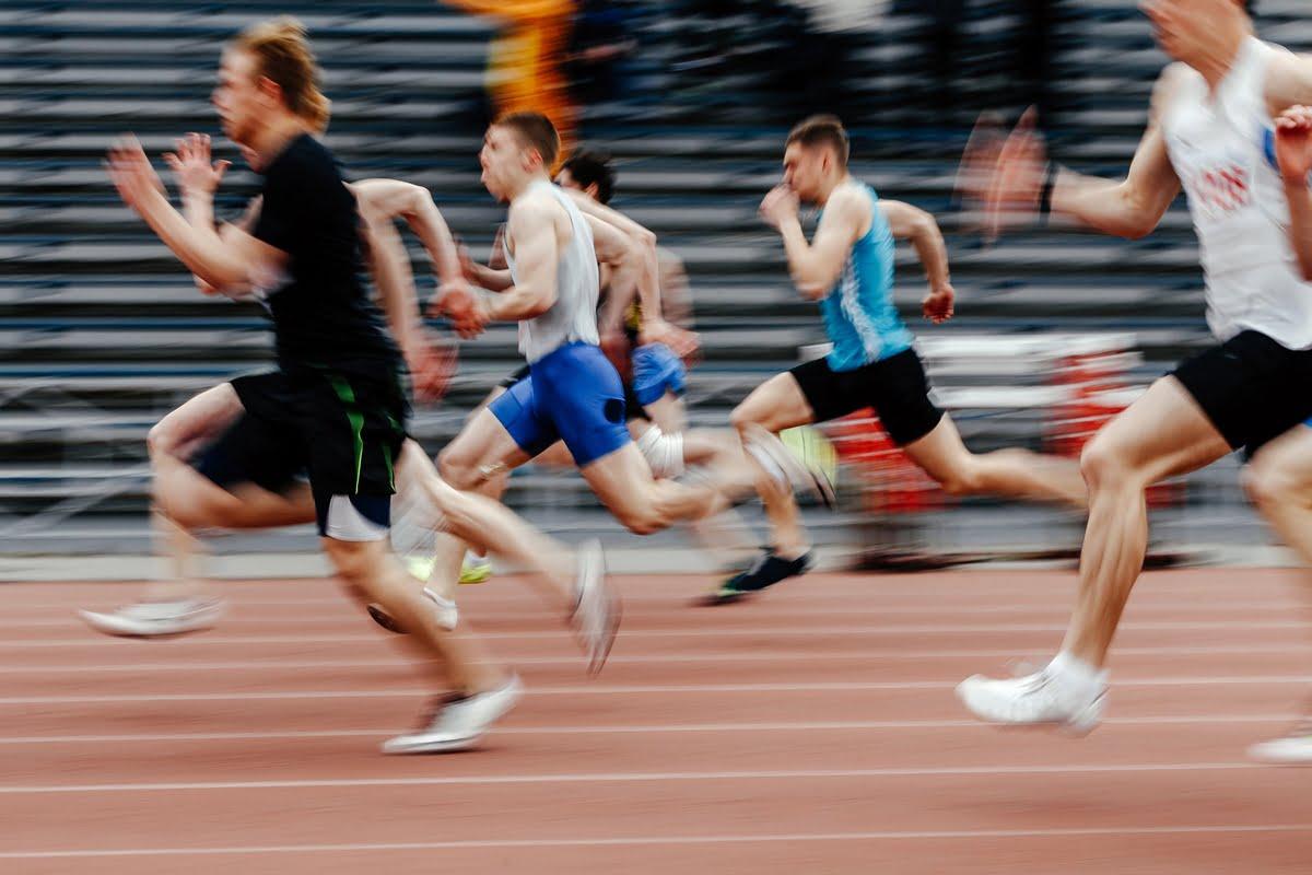 Sprint nelle gare di mezzofondo