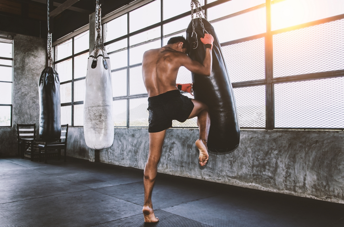 muay thai allenamento