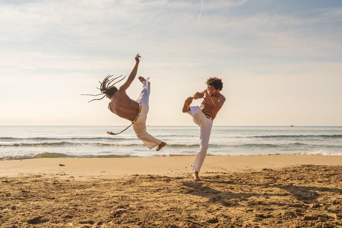 Capoeira allenamento