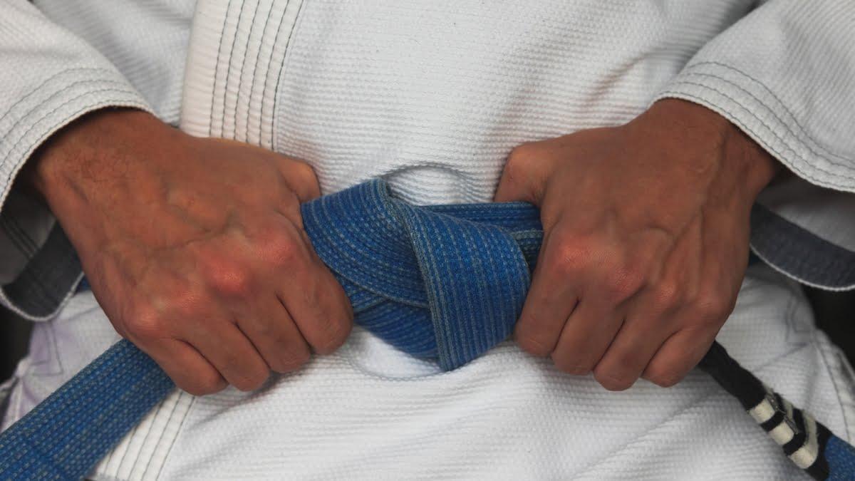 jiu jitsu brasiliano cintura blu