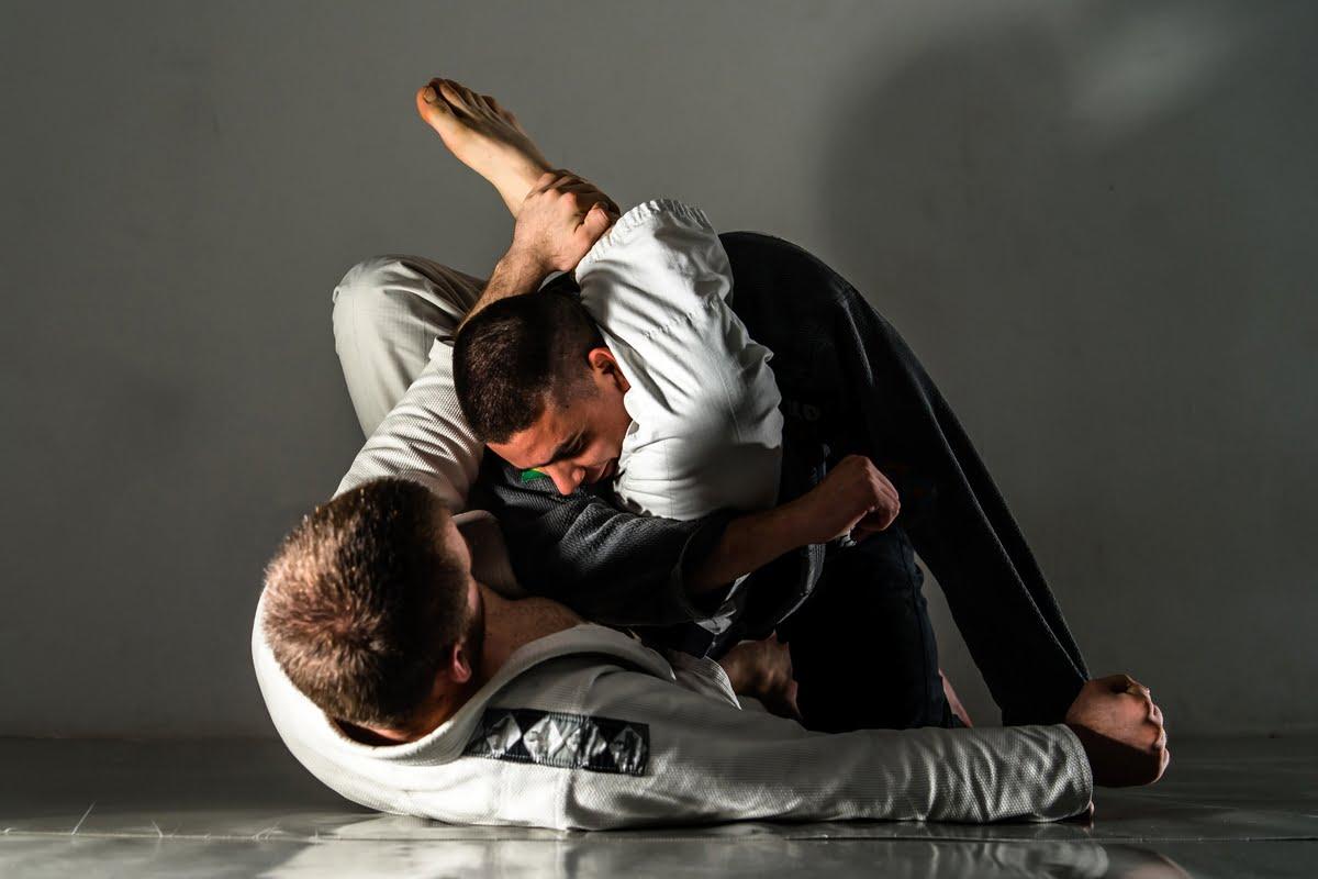 Jujutsu allenamento