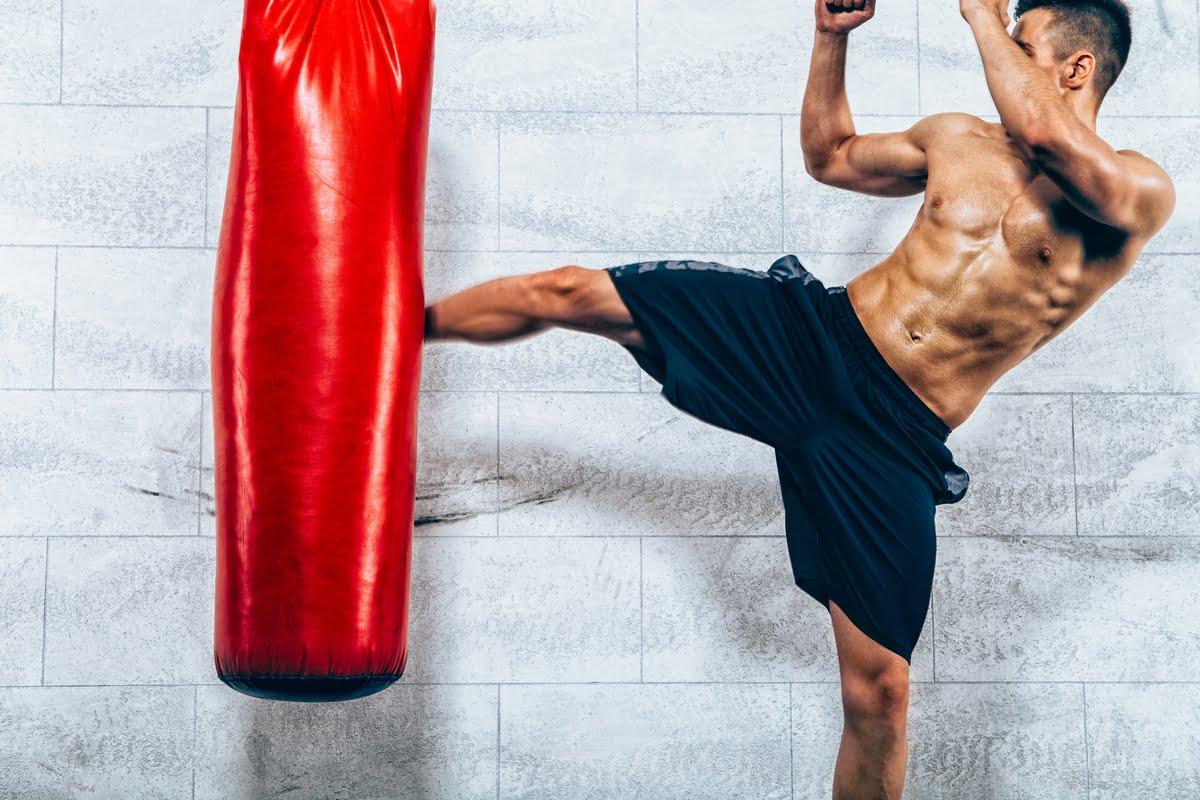 Kickboxing allenamento